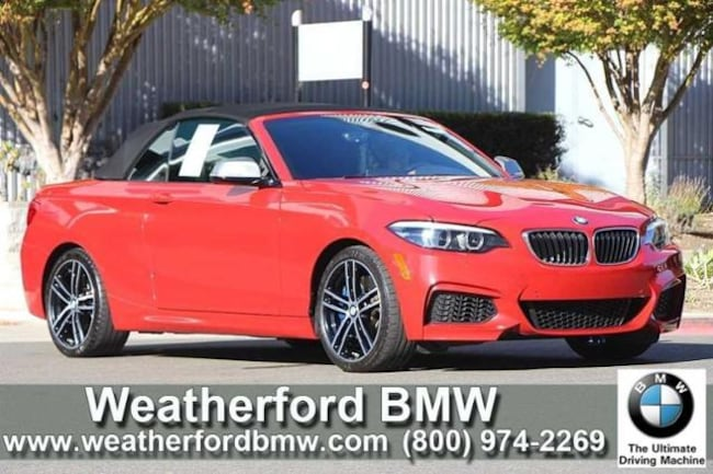 Used 2018 BMW 2 Series M240i Convertible Convertible in Berkeley