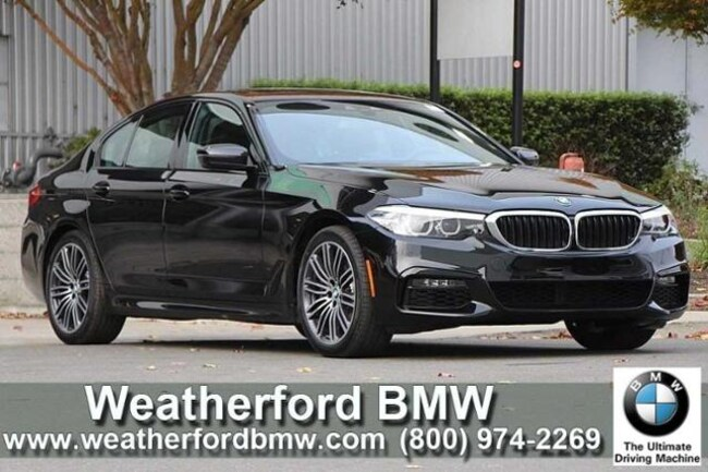 New 2019 BMW 5 Series 540i Sedan Sedan in Berkeley