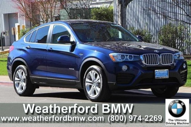 Used 2016 BMW X4 AWD 4dr Xdrive28i Sports Activity Coupe in Berkeley