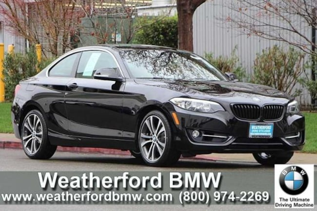 Used 2016 BMW 2 Series 2dr Cpe 228i RWD Sulev Coupe in Berkeley