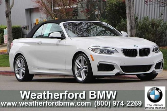 Used 2016 BMW 2 Series 2dr Conv 228i RWD Convertible in Berkeley
