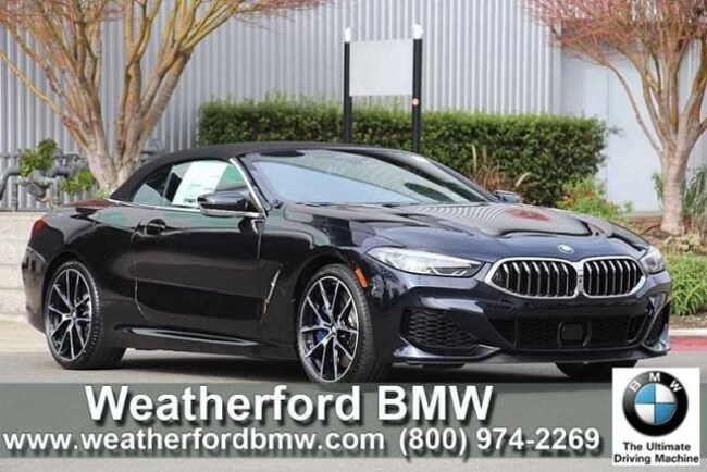 New 2019 BMW 8 Series M850i Xdrive Convertible Convertible in Berkeley