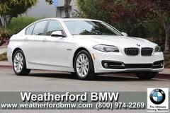 Used 2016 BMW 5 Series 4dr Sdn 535i RWD Sedan in Houston