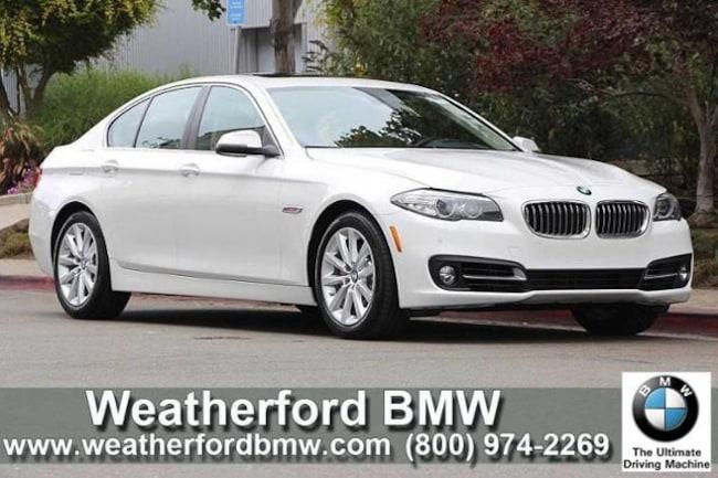 Used 2016 BMW 5 Series 4dr Sdn 535i RWD Sedan in Berkeley