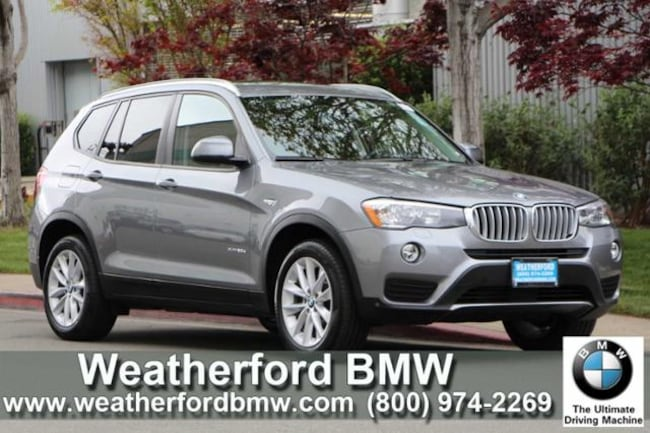 Used 2016 BMW X3 AWD 4dr xDrive28d SAV in Berkeley