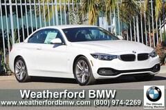 2019 BMW 4 Series 430i Convertible Convertible