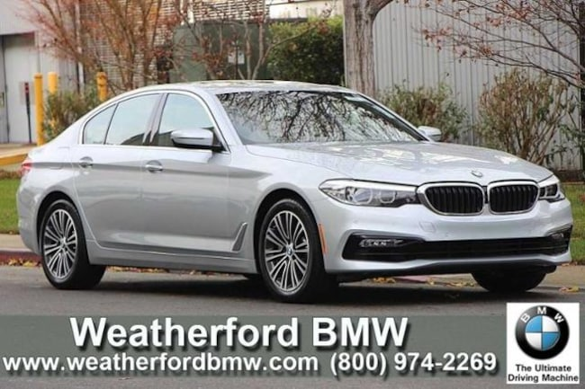 Used 2018 BMW 5 Series 530i Xdrive Sedan Sedan in Berkeley