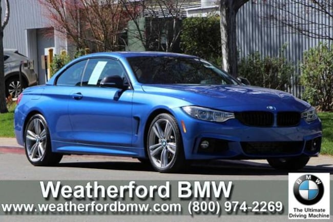 Used 2016 BMW 4 Series 2dr Conv 435i RWD Convertible in Berkeley