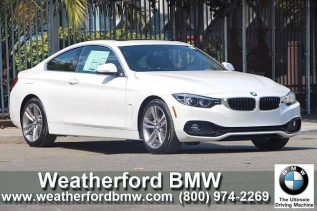 New 2019 BMW 4 Series 430i Coupe Coupe in Berkeley