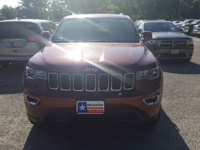 New 2018 Jeep Grand Cherokee LAREDO E 4X2 Sport Utility Jasper, TX