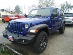 New 2019 Jeep Wrangler UNLIMITED SPORT S 4X4 Sport Utility in Jasper, TX