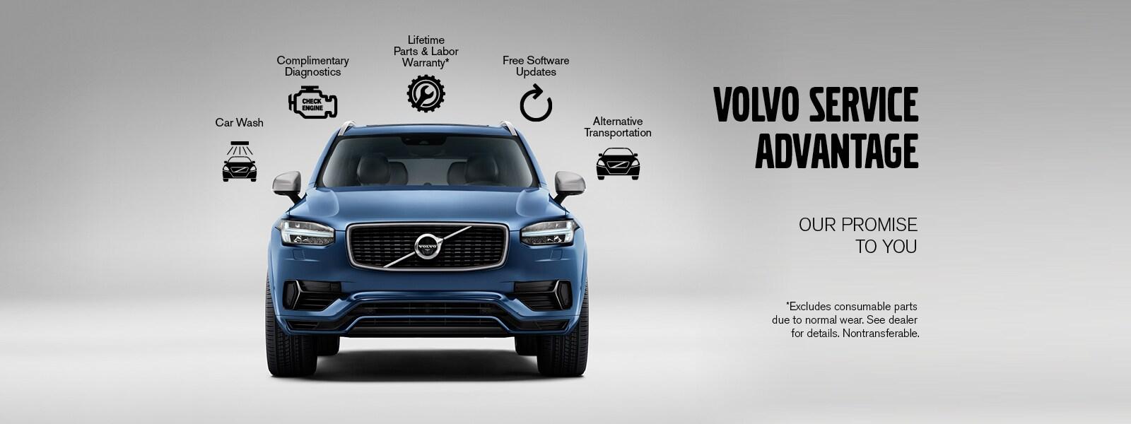 Service Advantage | Weaver Brothers Volvo Cars