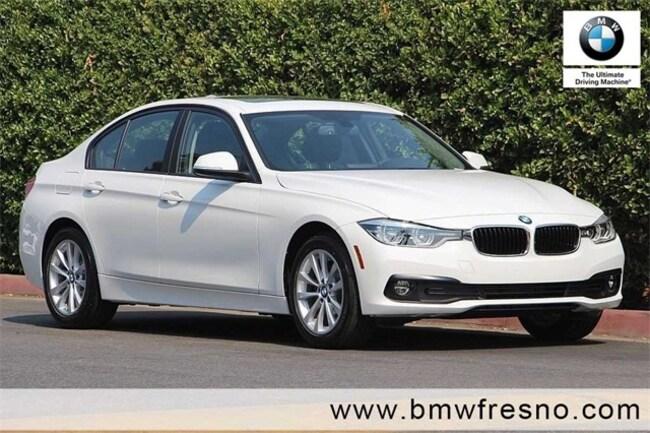 New 2018 BMW 320i Sedan in Fresno
