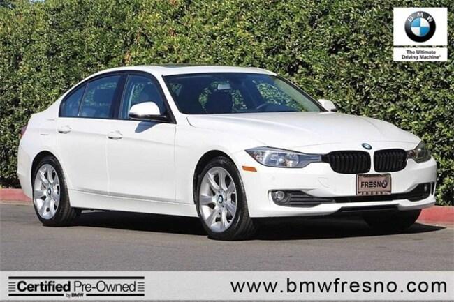 Certified Used 2015 BMW 320i 4dr Sdn 320i RWD Sedan in Fresno
