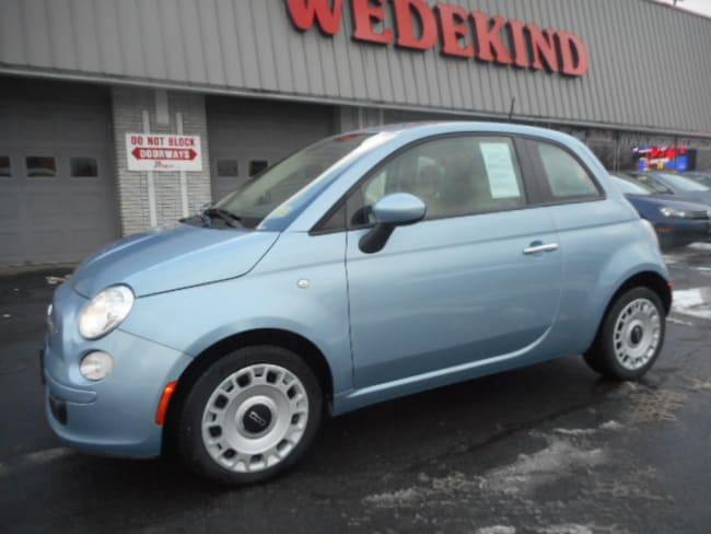 Used 2015 FIAT 500 Pop Hatchback near Albany