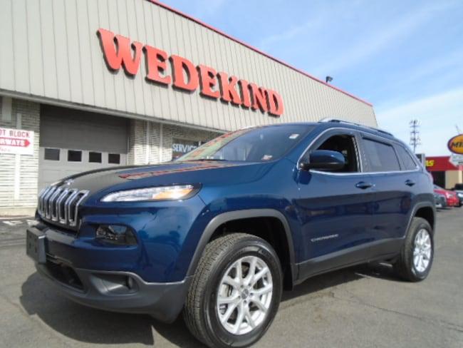 Used 2018 Jeep Cherokee Latitude Plus 4x4 SUV near Albany NY