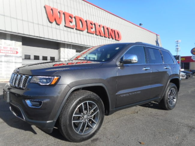 Used 2017 Jeep Grand Cherokee Limited 4x4 SUV near Albany NY