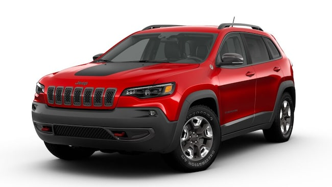 New 2019 Jeep Cherokee TRAILHAWK 4X4 Sport Utility Butler, OH
