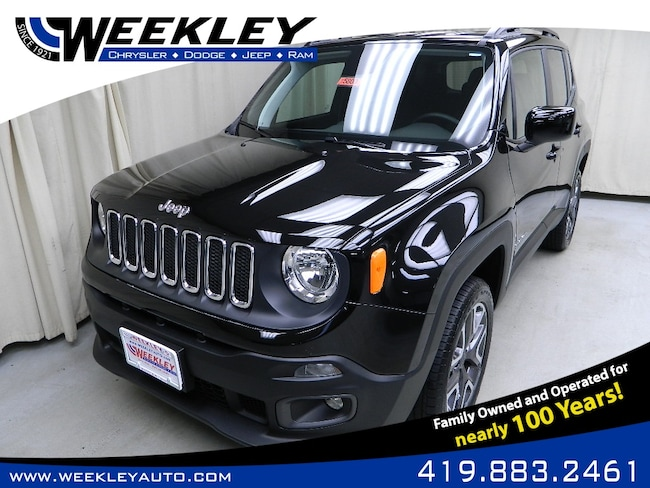 New 2018 Jeep Renegade LATITUDE 4X4 Sport Utility Butler, OH