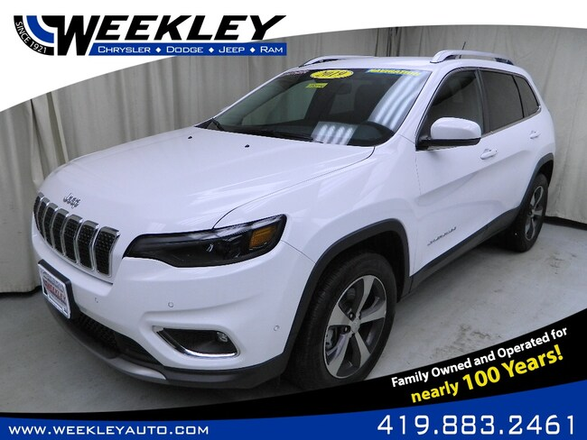 Used 2019 Jeep Cherokee Limited SUV Butler, OH