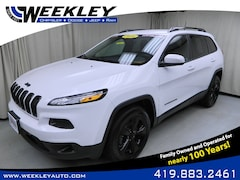 Used 2016 Jeep Cherokee Altitude 4x4 SUV Butler, OH