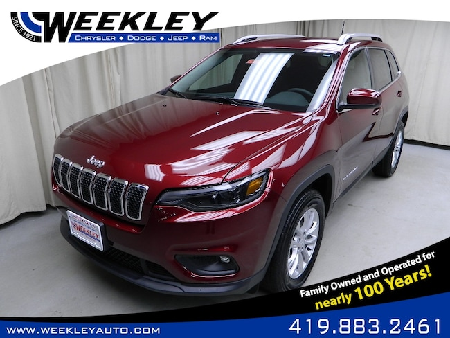 New 2019 Jeep Cherokee LATITUDE 4X4 Sport Utility Butler, OH