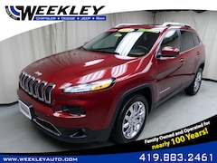 Used 2015 Jeep Cherokee Limited 4x4 SUV Butler, OH