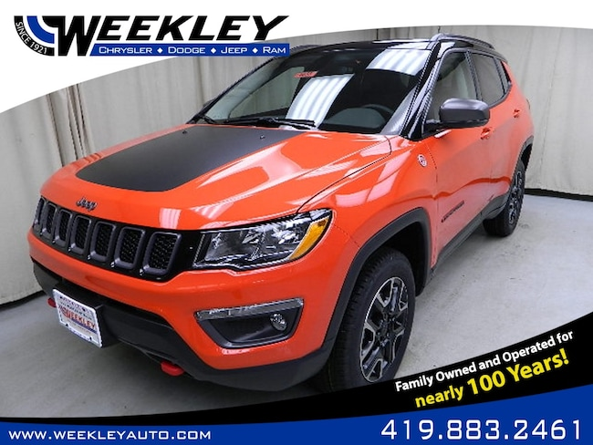 New 2019 Jeep Compass TRAILHAWK 4X4 Sport Utility Butler, OH