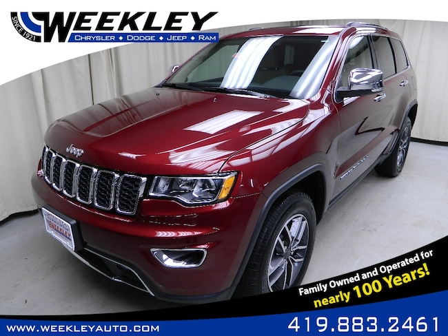 New 2019 Jeep Grand Cherokee LIMITED 4X4 Sport Utility Butler, OH