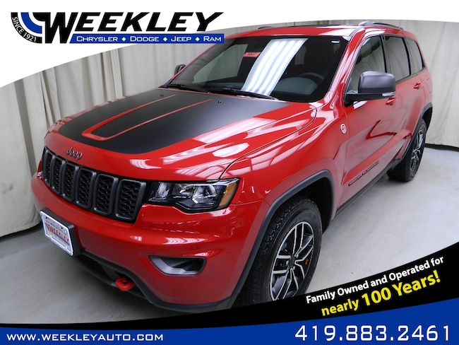 New 2019 Jeep Grand Cherokee TRAILHAWK 4X4 Sport Utility Butler, OH