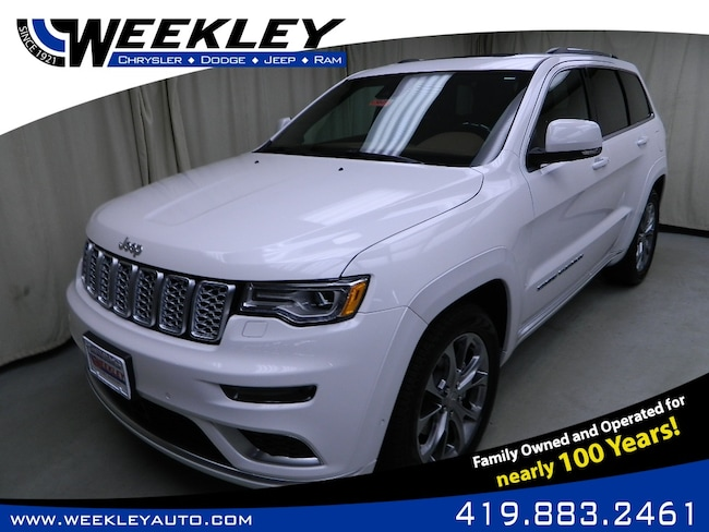 New 2019 Jeep Grand Cherokee SUMMIT 4X4 Sport Utility Butler, OH