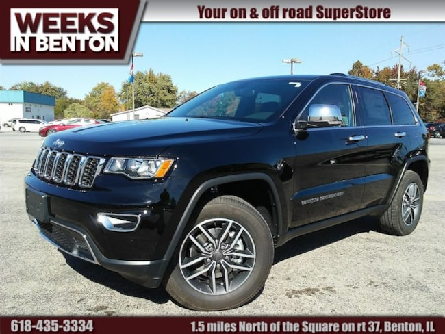New 2019 Jeep Grand Cherokee LIMITED 4X4 Sport Utility Benton