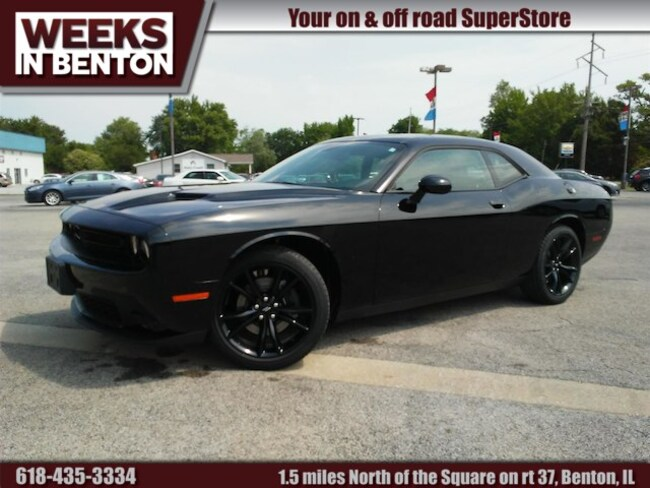 New 2018 Dodge Challenger SXT PLUS Coupe Benton