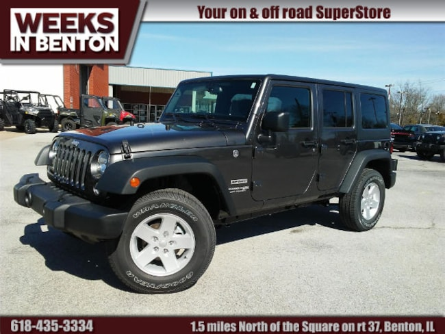 New 2018 Jeep Wrangler Unlimited WRANGLER JK UNLIMITED SPORT S 4X4 Sport Utility Benton