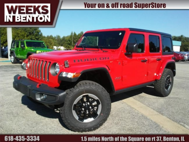 New 2018 Jeep Wrangler UNLIMITED RUBICON 4X4 Sport Utility Benton