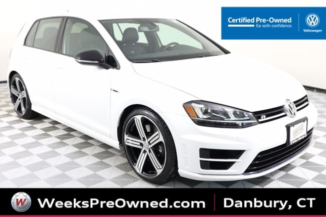 2016 Volkswagen Golf R DCC w/Nav & 6-Spd Manual Hatchback