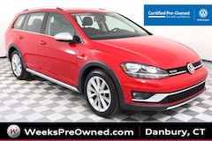 2018 Volkswagen Golf Alltrack S w/ 4Motion Wagon