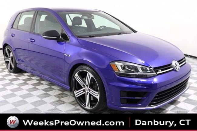 2016 Volkswagen Golf R DCC w/ NAV & 6-Spd Manual Hatchback