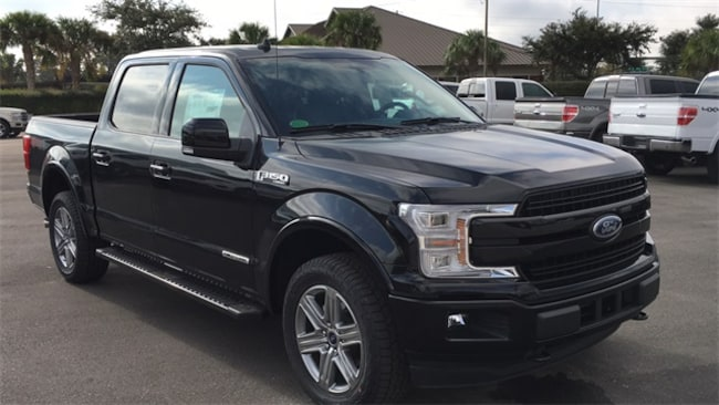 New 2018 Ford F-150 Lariat Truck SuperCrew Cab in Lake Wales
