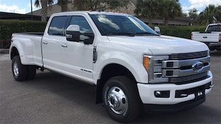 2019 Ford F-350 SD Limited Truck Crew Cab