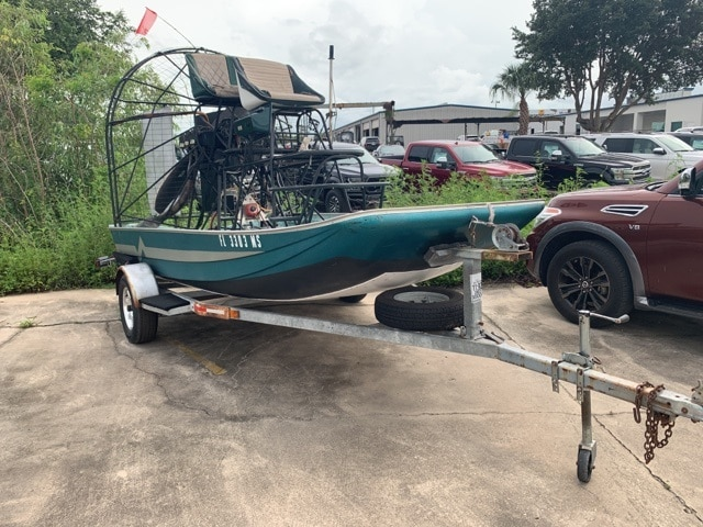2002 Lazer 14 Airboat Lycoming