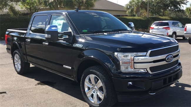 New 2018 Ford F-150 Platinum Truck SuperCrew Cab in Lake Wales