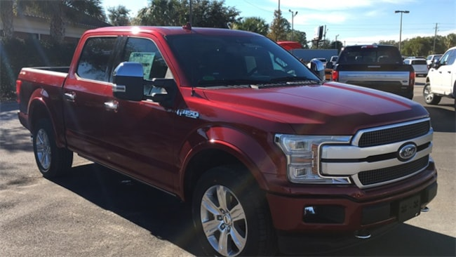 New 2019 Ford F-150 Platinum Truck SuperCrew Cab in Lake Wales