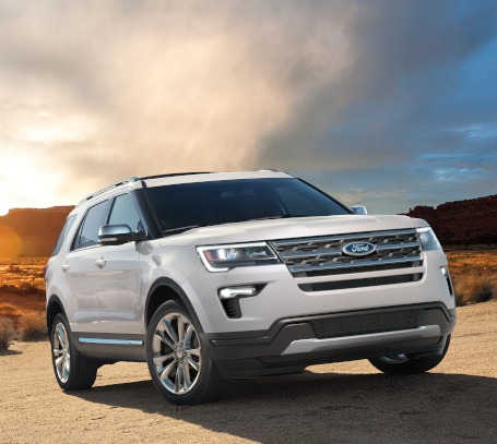 New Ford Explorer SUV