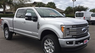 2019 Ford F-350 SD Platinum Truck Crew Cab