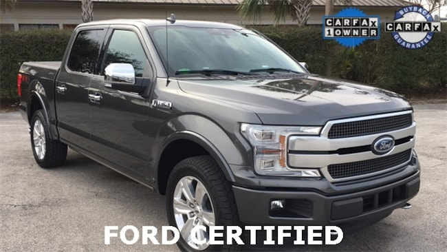 2018 Ford F-150 Platinum Truck for sale in Lake Wales