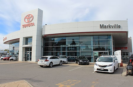 Markville Toyota 5362 Highway #7, Markham, Ontario L3P 1B9