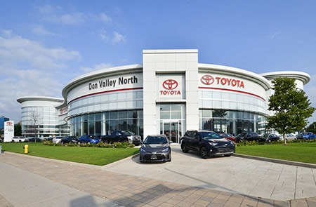 Don Valley North Toyota 3300 Steeles Ave E, Markham, Ontario L3R 1G9