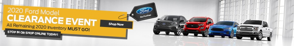 2020 Ford Model Clearance Event