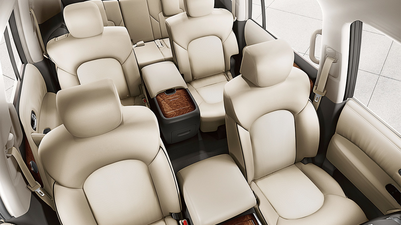Nissan Armada Seating
